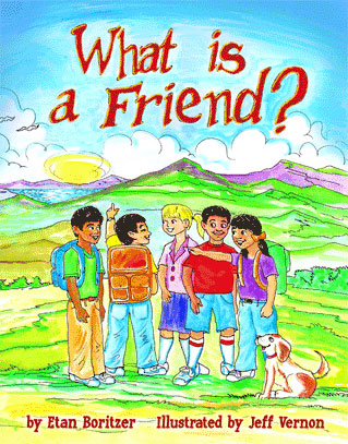 What is a Friend? (softcover book)