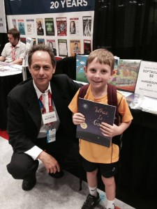 Etan and Reader at Book Expo America, New York